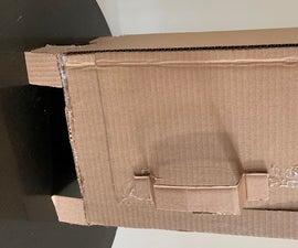 How to Make a Cardboard Mini Locker