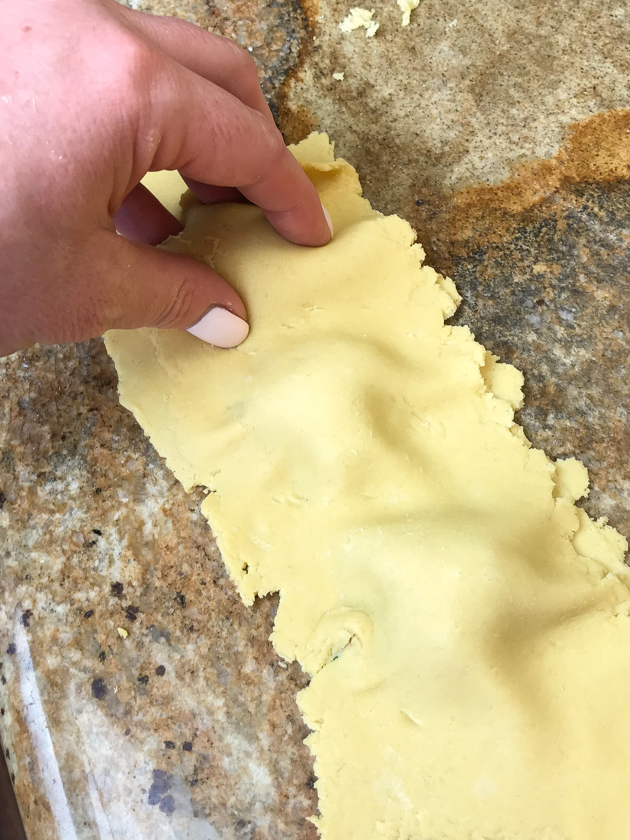 Picture of Add Filling to Dough and Cook Ravioli: