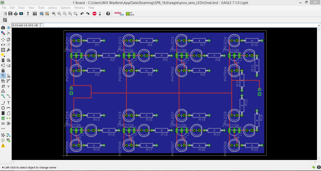 Picture of PCB Design in EAGLE