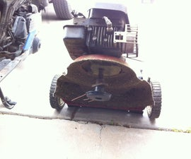 Hack a Mower to build your own Red Neck Trimmer Mower