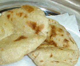 How to make Tandoori Roti - Indian Cooking Recipe