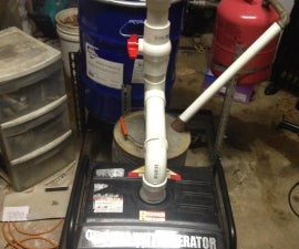 A Homemade Wood Gasifier To Keep You With Power After The Grid Fails