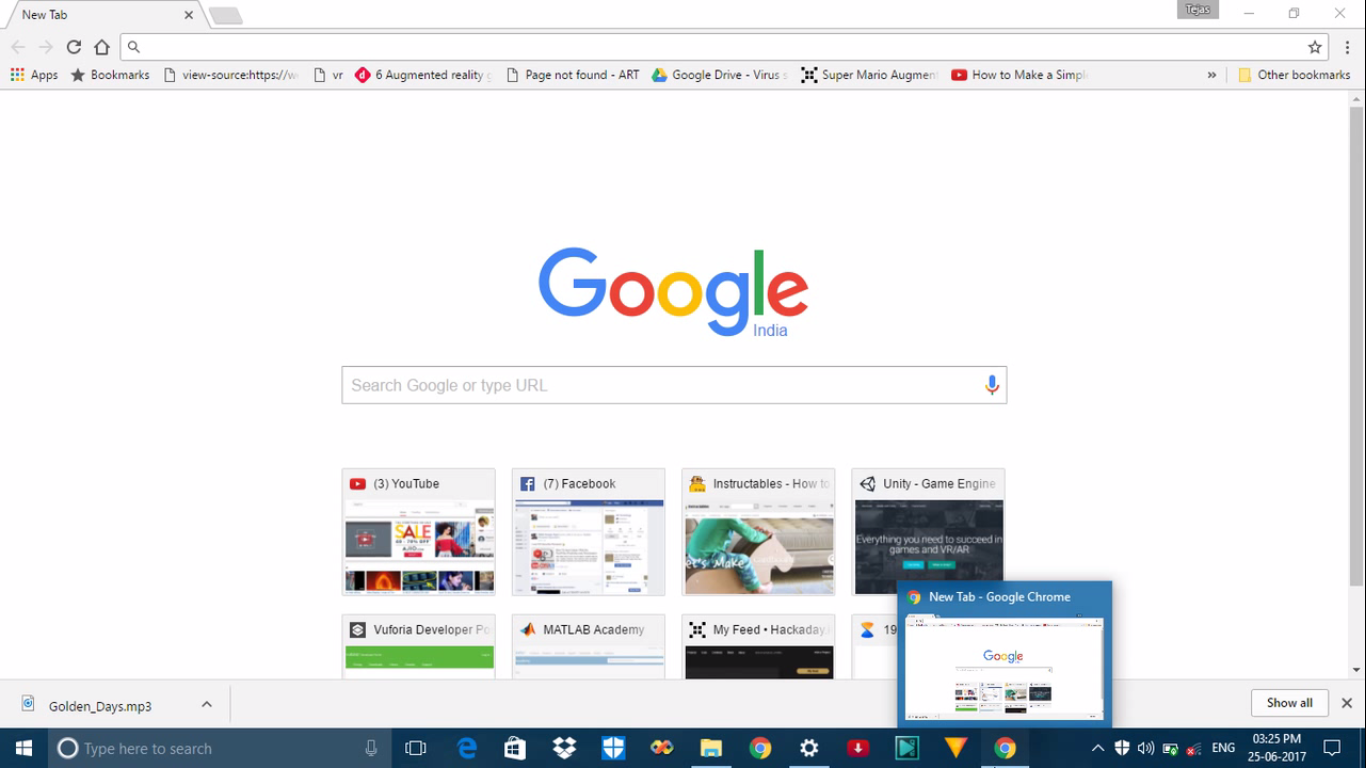 Picture of Open Google Chrome