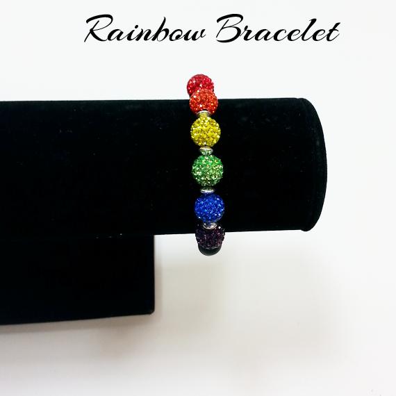 Picture of Simple Rainbow Bracelet