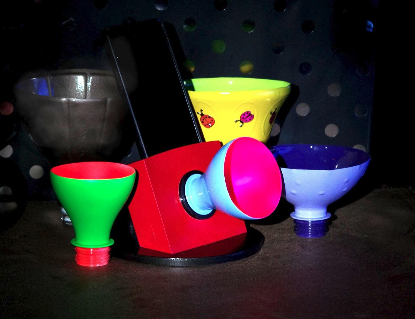 Picture of Interchangeable Horn Phone Speaker