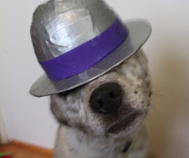 Duct Tape Bowler Hat