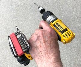 Tool Holder for a DeWalt Tool