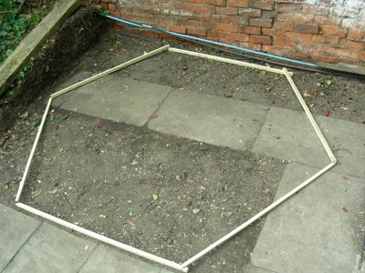 Hexagonal Shed Site Clearance and Base