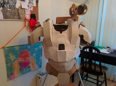 Paper Mache and Cardstock
