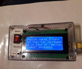 Information Station (Arduino)