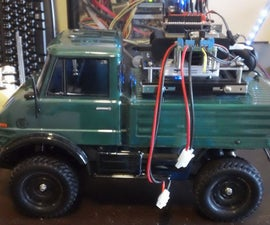Car No.04 I have integrated batteries, modularized a bit, and applied advanced net.USB
