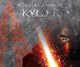 How to make a Lightsaber - Kylo Ren
