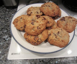Texas Chocolate Chip Cookies