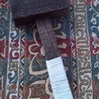 Wrapped Hammer Handle