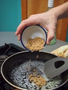 Making the Banana Topping