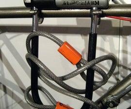 Simple Bike U-Lock Holder