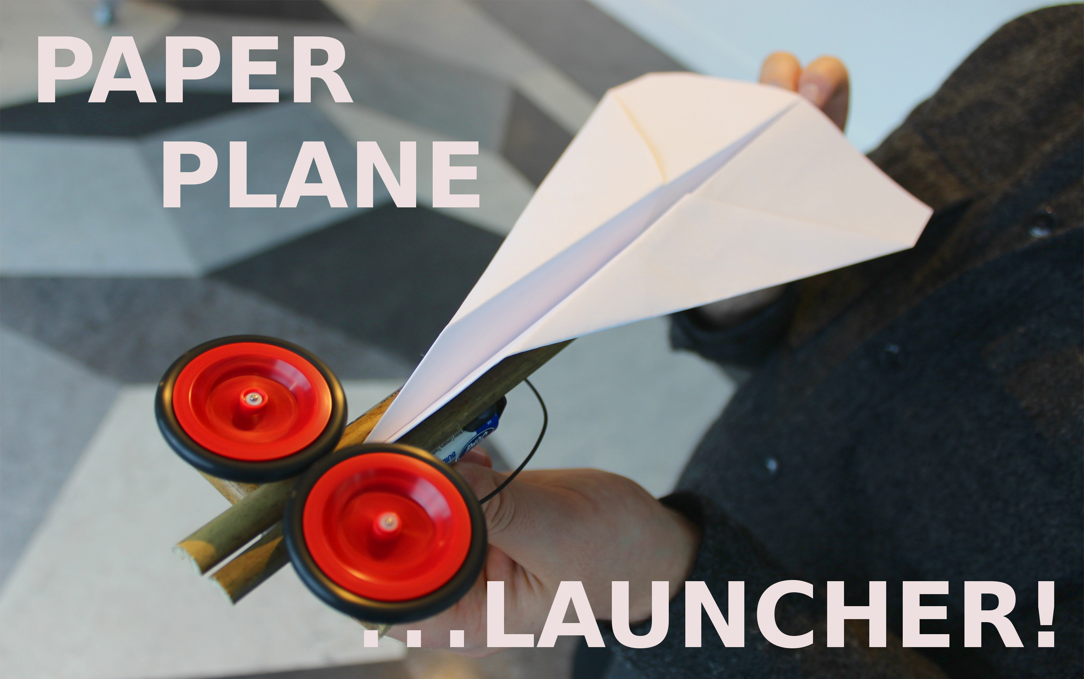 Picture of LET'S MAKE a PAPER PLANE LAUNCHER