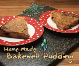 Home-made Bakewell Pudding