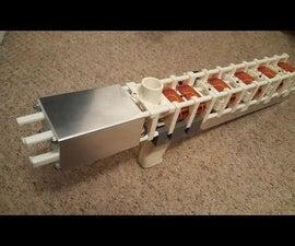Mk4 Coil Gun 6-Stage 3D Printed