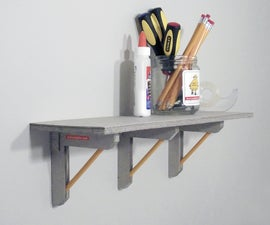 Recycled Cardboard Shelf