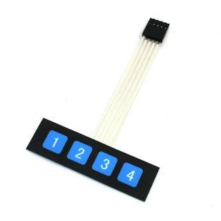 [WQZT_9871]  Arduino 1x4 Keypad Membrane - Instructables | Membrane 1x4 Keypad Wiring Diagram |  | Instructables