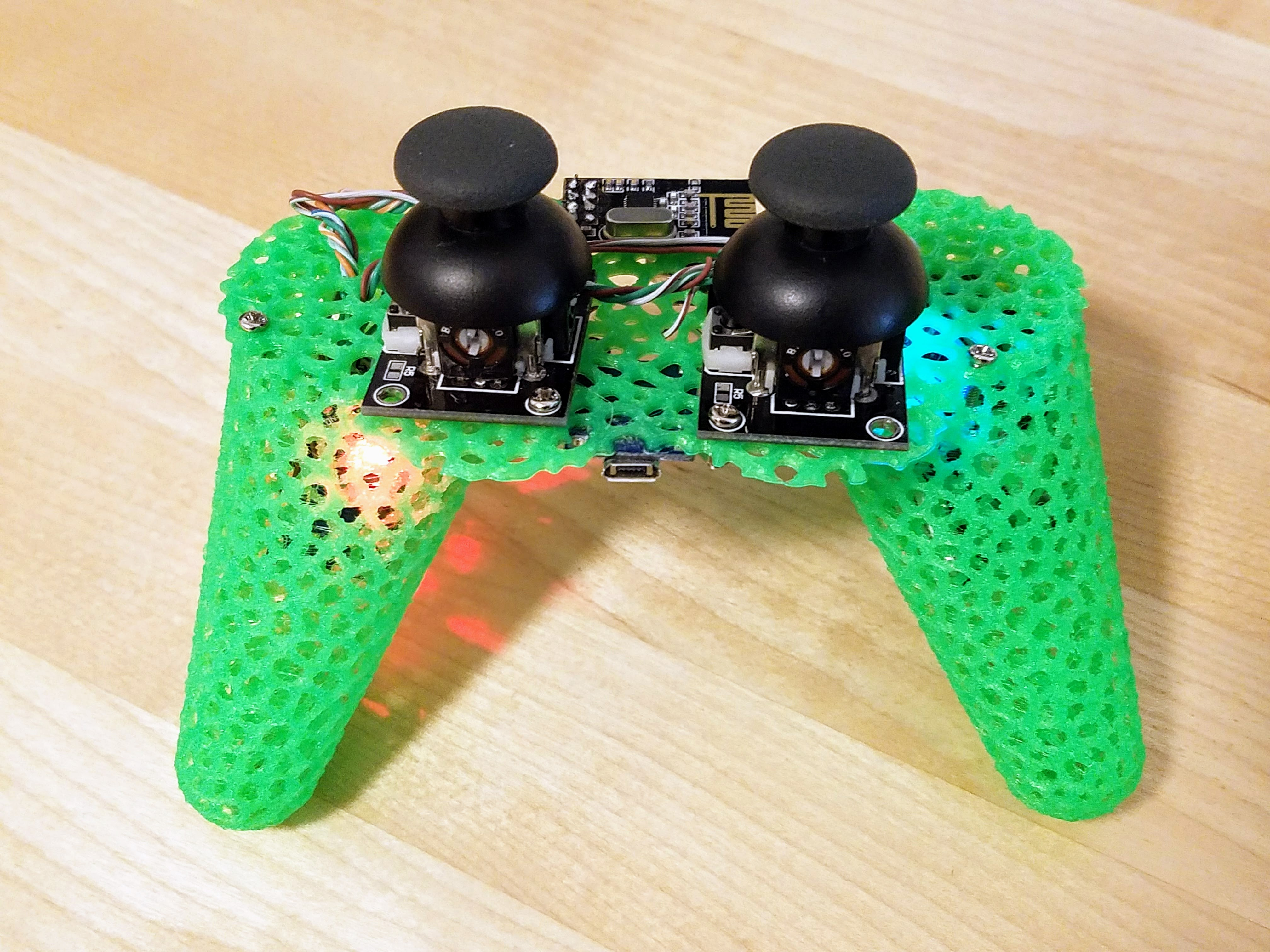 Picture of Controller (3d Printed Parts and Assembly)