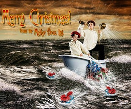 Pre-Viz and Photoshop compositing for a Holiday Card