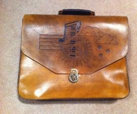 Leather Messenger Bag/Brief Case