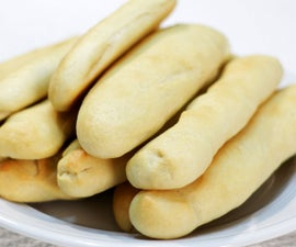 Amazing Homemade Breadsticks (no mixer)