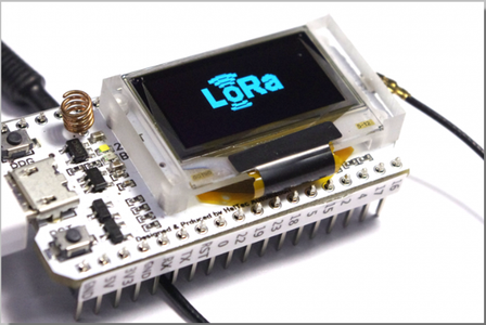 Introduction ESP32 Lora OLED Display
