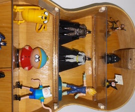Acoustic Guitar Shelf