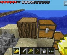 How to clone blocks in minecraft pe!