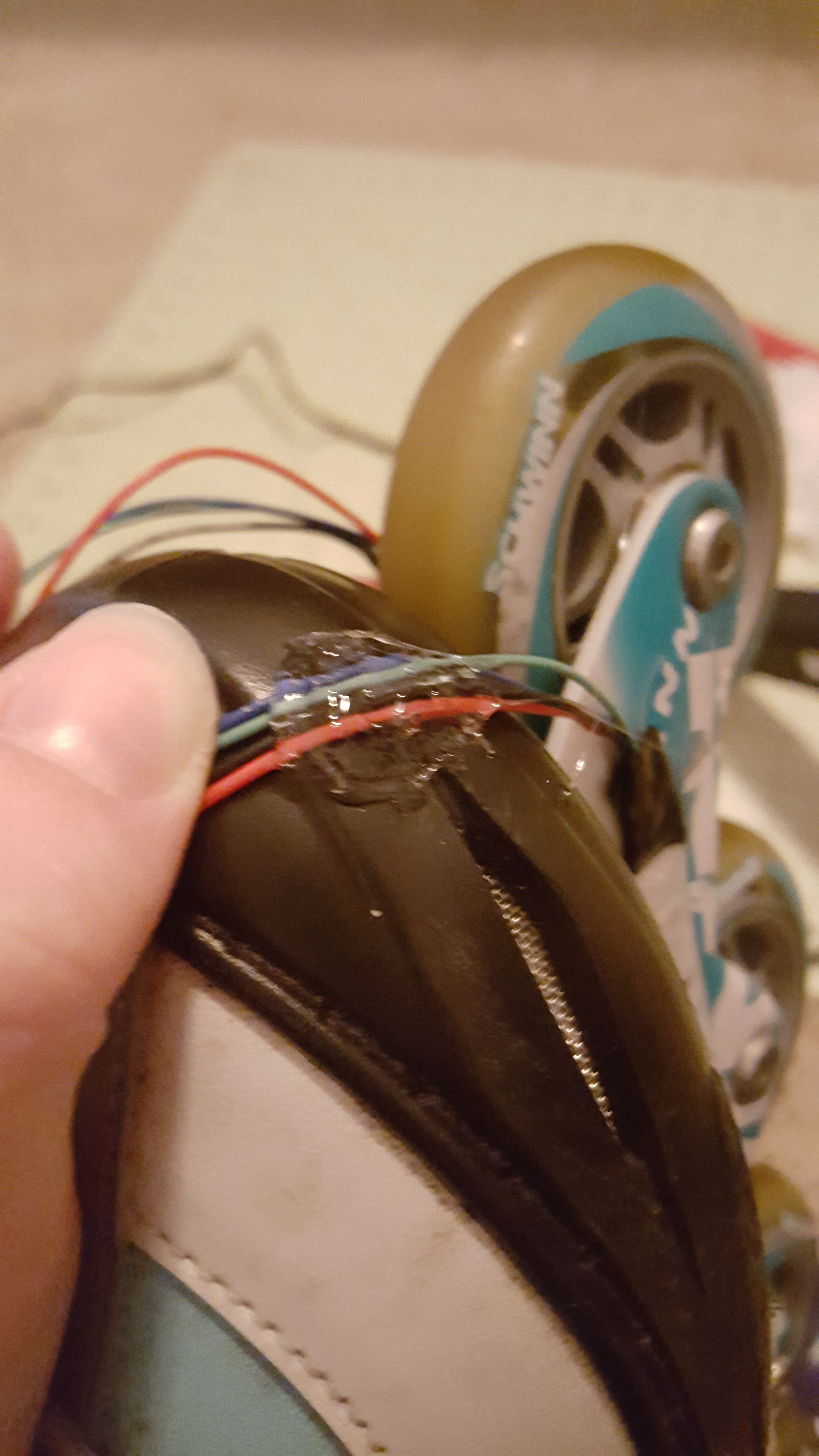 Picture of Attaching to the Skates