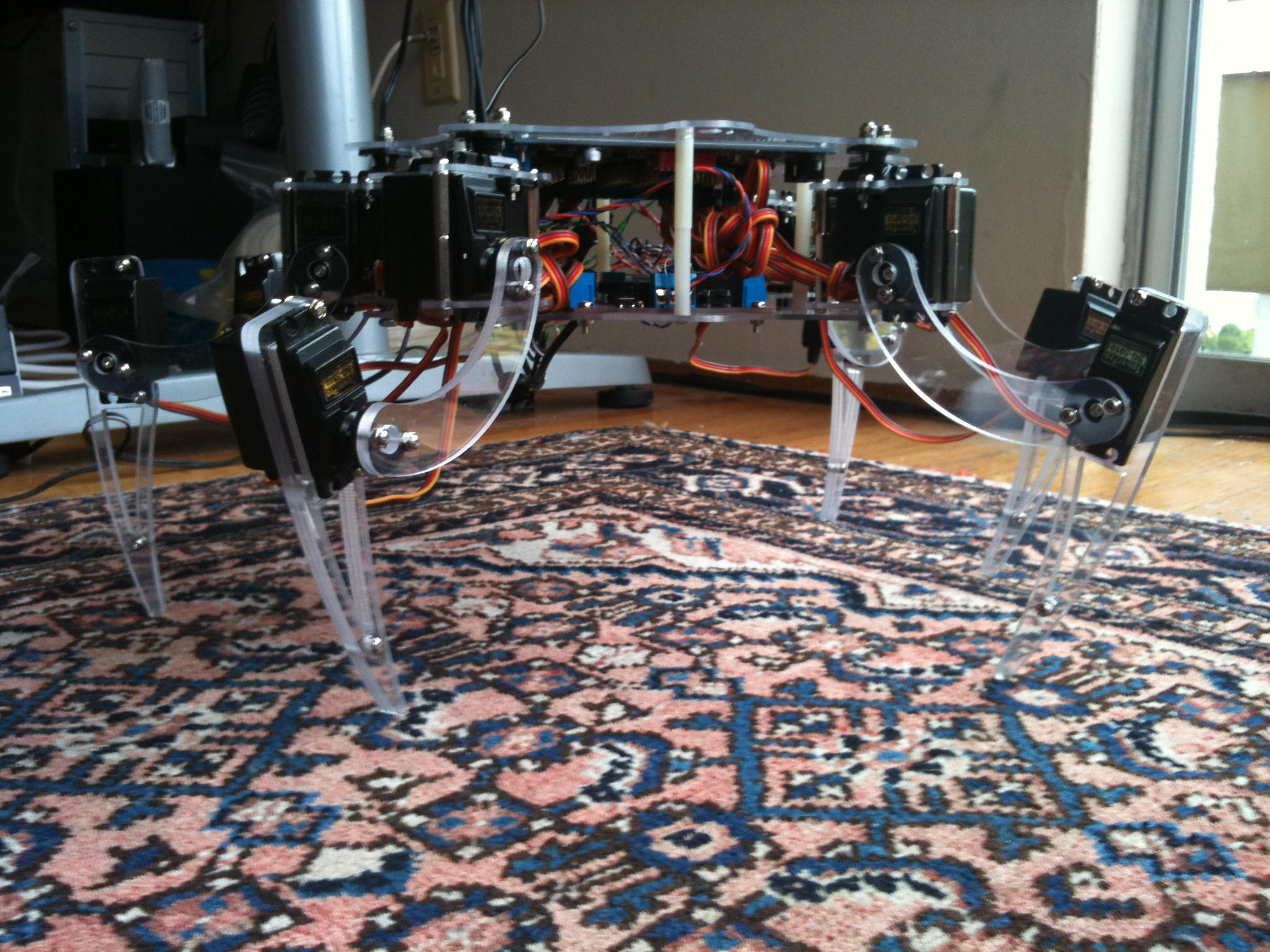 Picture of hexapod robot kit