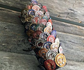 Bottle Cap Armored Bracer for Zombie Protection