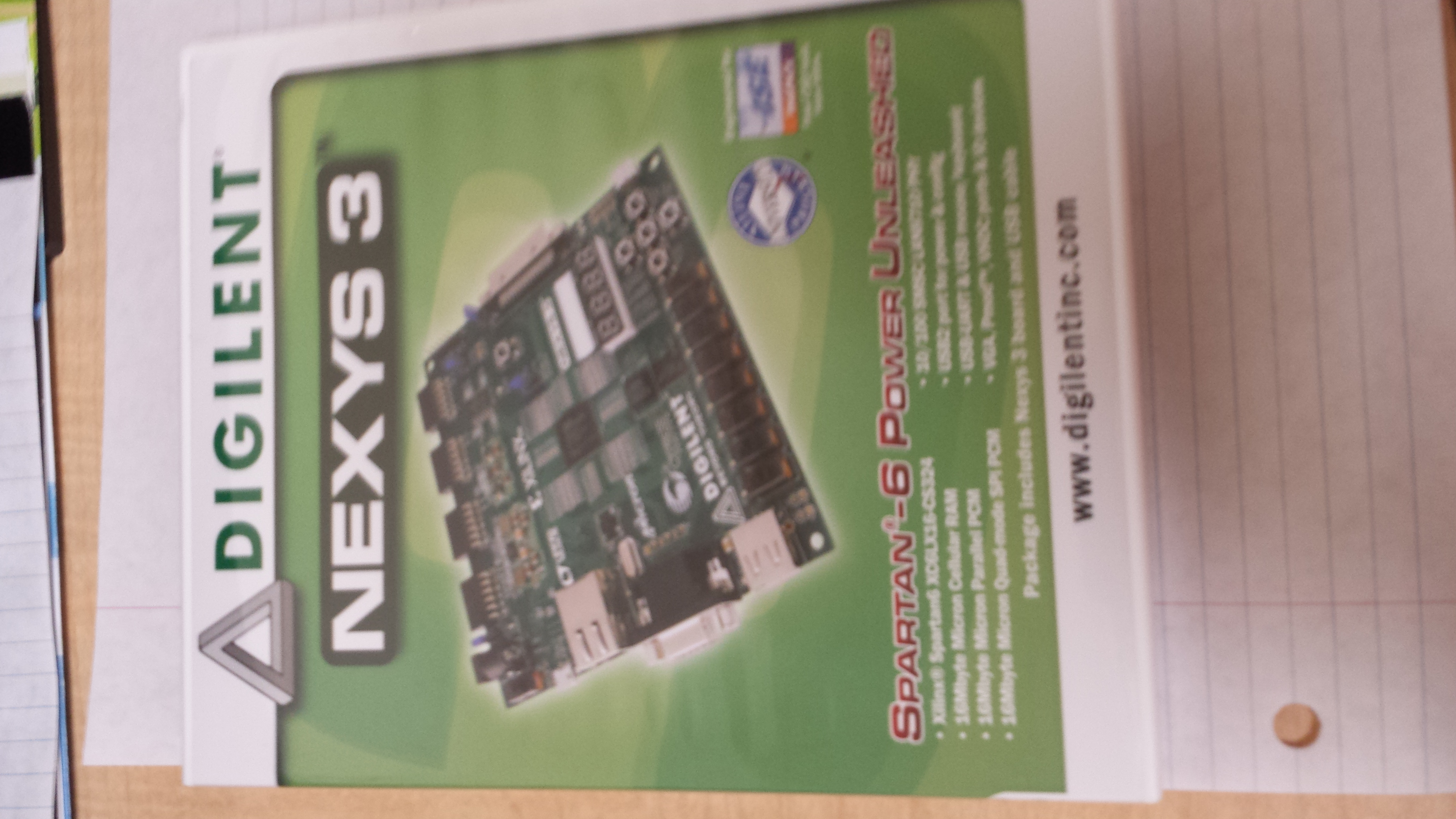 Picture of Picture of Nexys 3 Board