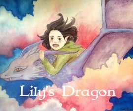 Lily's Dragon (Painting Tutorial)