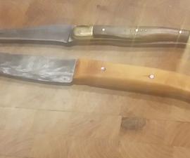 Sawblade knife LAGUIOLE inspiration