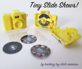 Tiny Slide Shows!  (by hacking toy cameras)