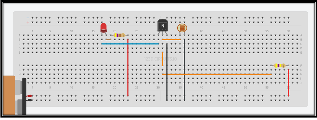 Picture of Circuit and Connections