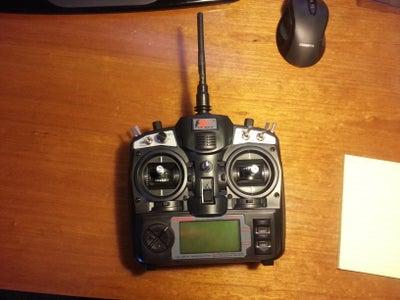 Bind/Pairing Receiver to Transmitter