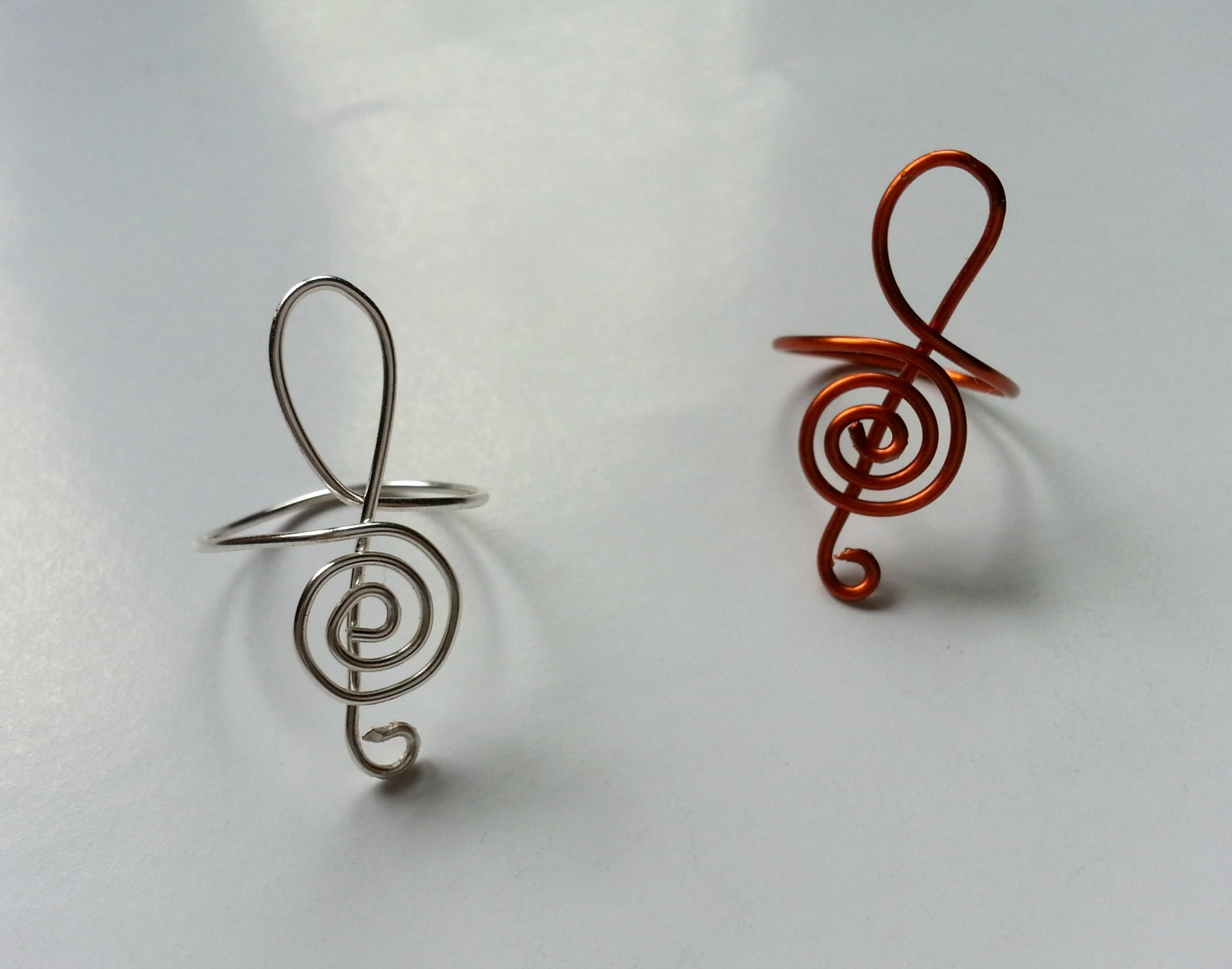 Picture of DIY G-Clef Inspired Ring
