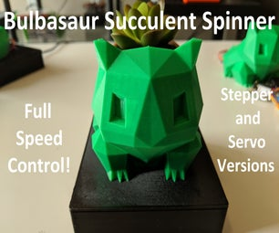 Bulbasaur Succulent Spinner