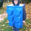 The human LEGO brick Halloween costume