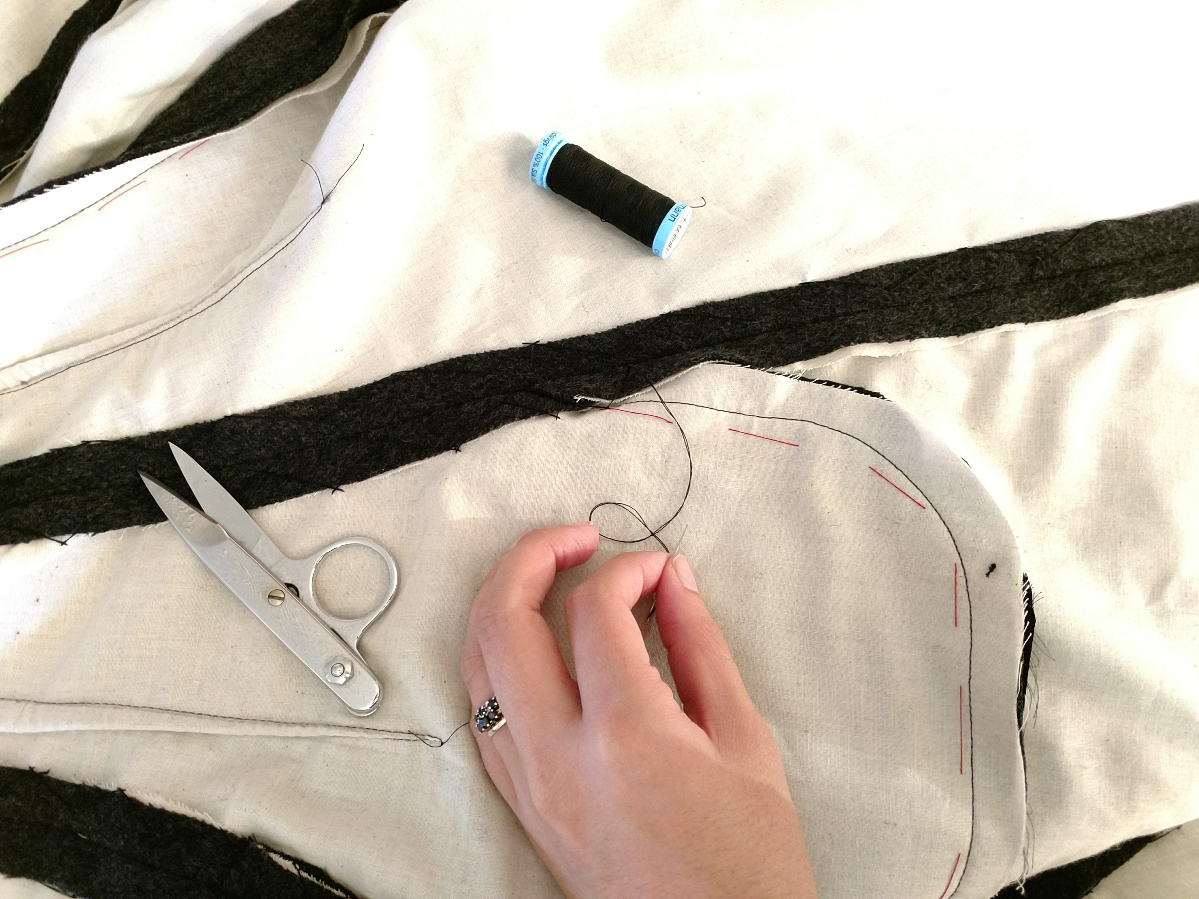 Picture of Catch Stitching