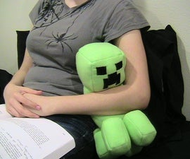 Minecraft Stuffed Creeper Doll