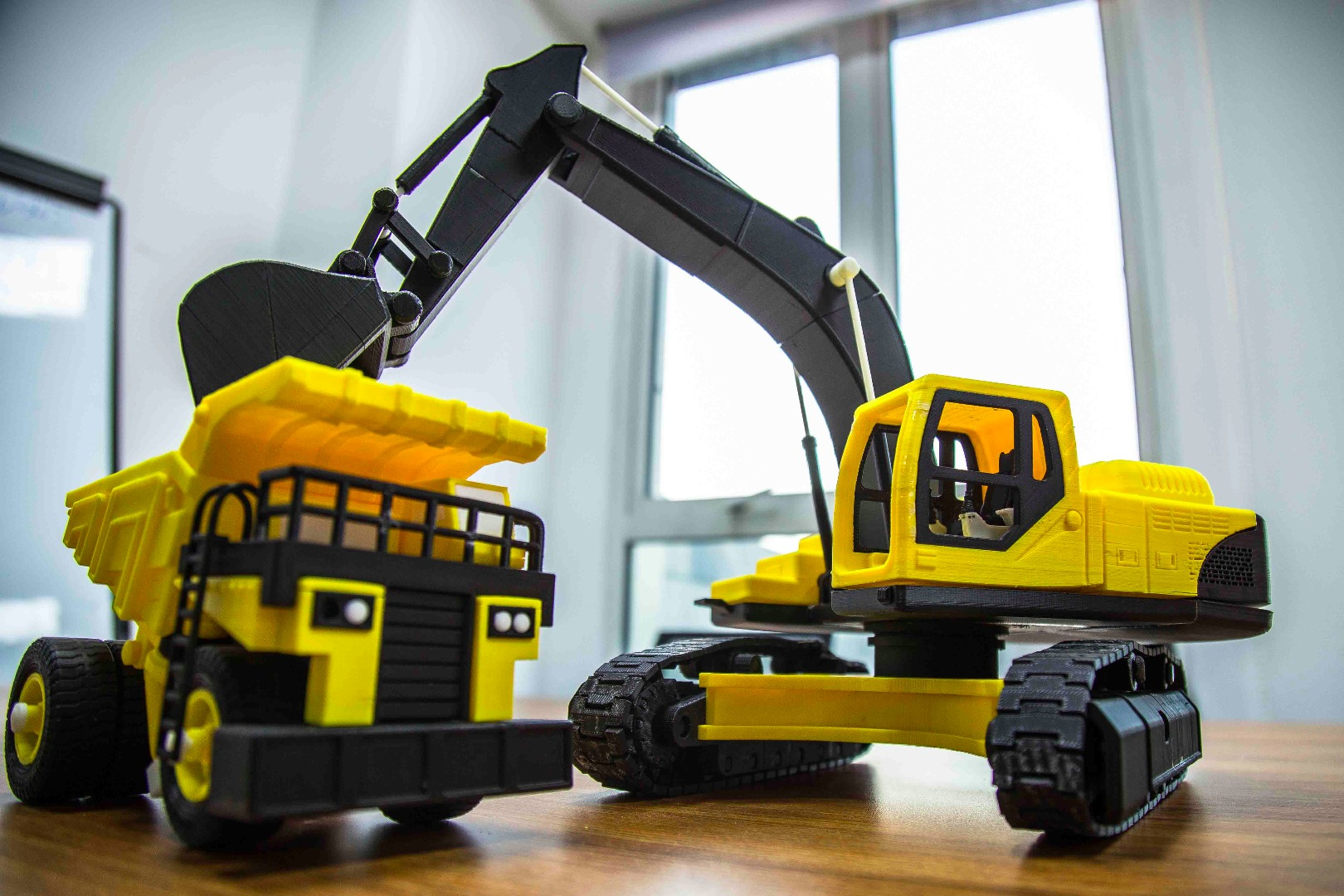 Picture of Toy Excavator