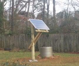 Adjustable Solar Panel Mount