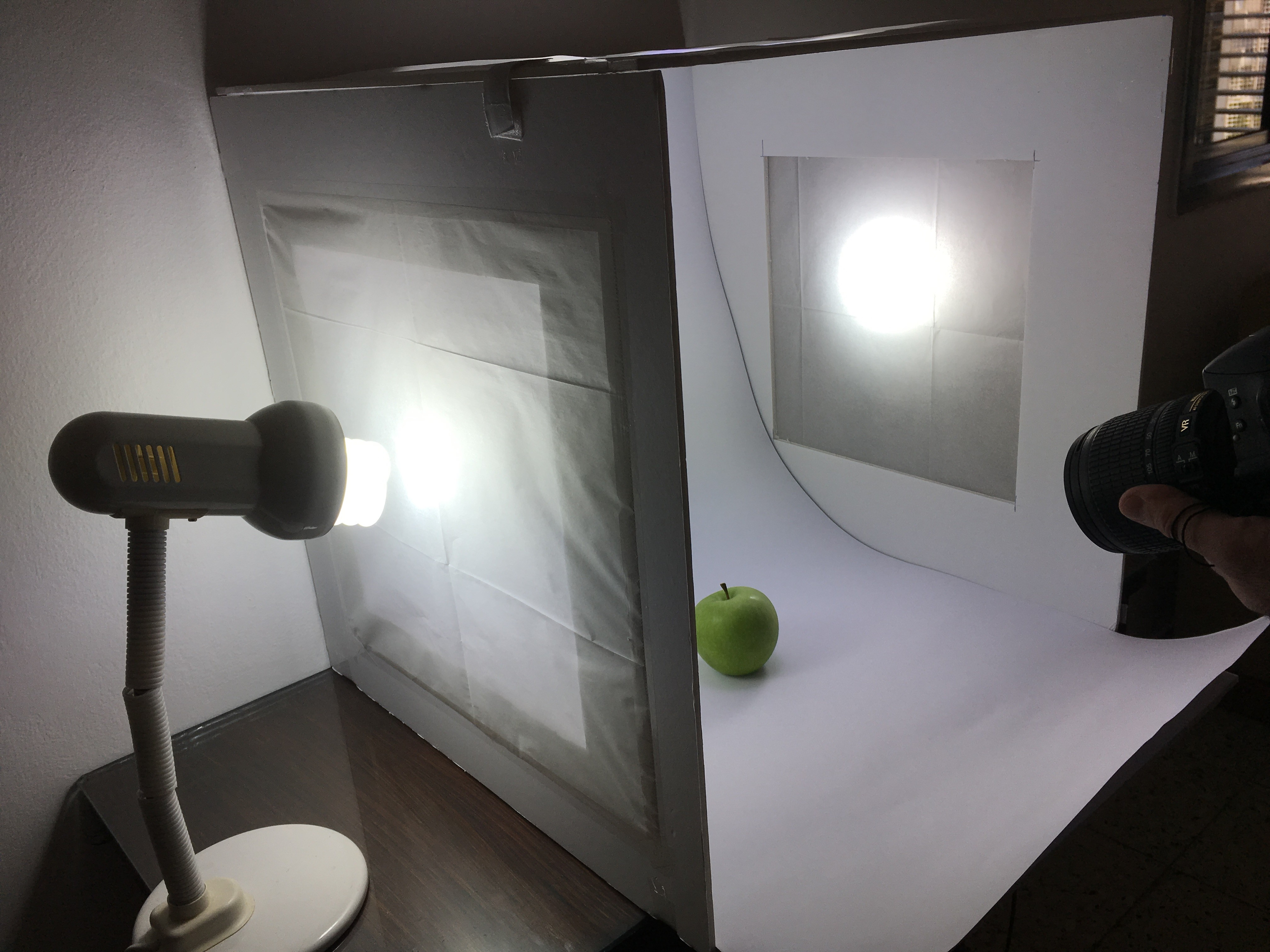 Picture of Photo Shoot Setup