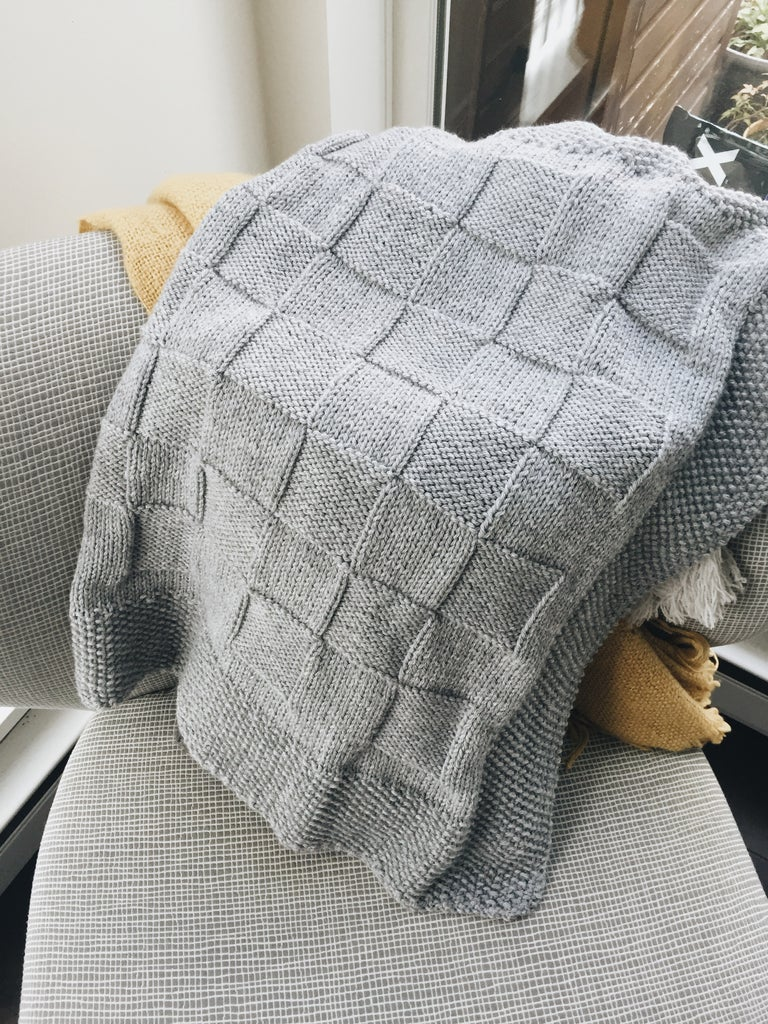 afca843f34c09 Knit Baby Blanket: 7 Steps (with Pictures)